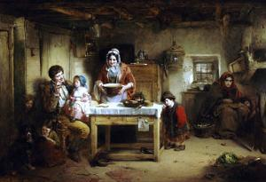 Home and the Homeless, 1856 by Thomas Faed