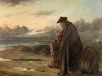 Oh, Why I Left My Hame?, 1886-Thomas Faed-Framed Giclee Print