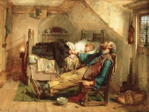 Worn Out, 1868 by Thomas Faed