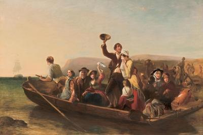 Emigration - the Parting Day, 1852