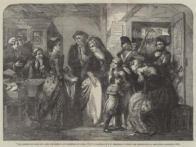 The Arrest of Louis XVI and His Family, at Varennes