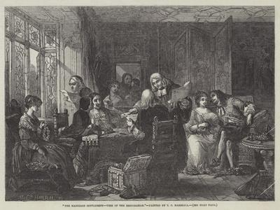 The Marriage Settlement, Time of the Restoration