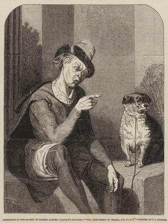 Launce's Lecture, Two Gentlemen of Verona, Act Iv, Scene 4