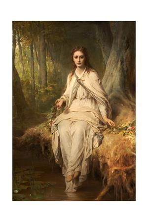 Ophelia, 1873