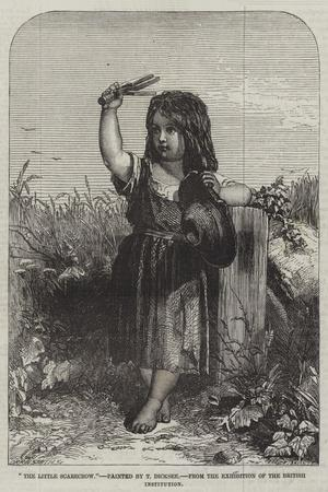 The Little Scarecrow, from the Exhibition of the British Institution