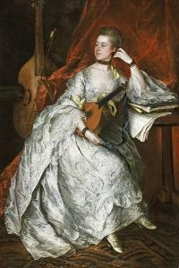 Ann Ford (Later Mrs Philip Thicknesse), 1760 by Thomas Gainsborough