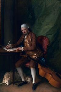 Carl Friedrich Abel, C.1777 by Thomas Gainsborough