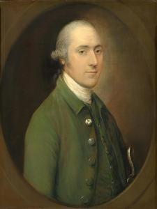 Clement Tudway , 1773 by Thomas Gainsborough