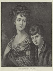 Eliza Anne Linley (Mrs Sheridan) and Her Brother by Thomas Gainsborough