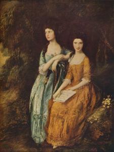 'Elizabeth and Mary Linley', c1772 by Thomas Gainsborough