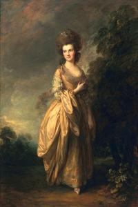 Elizabeth Beaufoy, Later Elizabeth Pycroft, C.1780 by Thomas Gainsborough