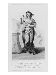 Elizabeth Chudleigh by Thomas Gainsborough