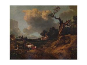 'Elmsett Church, West Suffolk', 18th century, (1935) by Thomas Gainsborough