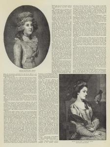Fair Celebrities of Bygone Days by Thomas Gainsborough