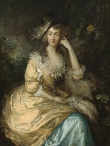 Frances Susanna, Lady de Dunstanville, c.1786 by Thomas Gainsborough