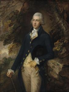 Francis Basset, Lord de Dunstanville, c.1786 by Thomas Gainsborough