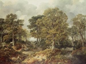 Gainsborough's Forest by Thomas Gainsborough