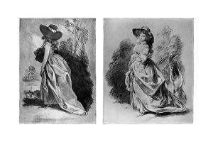 Gainsborough's Studies for His Celebrated Portrait of the Duchess of Devonshire, C1787 by Thomas Gainsborough