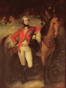George Iv, as Prince of Wales, 1782 by Thomas Gainsborough