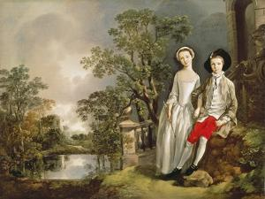 Heneage Lloyd and his Sister by Thomas Gainsborough