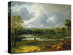 Holywells Park, Ipswich, 1748-50 by Thomas Gainsborough