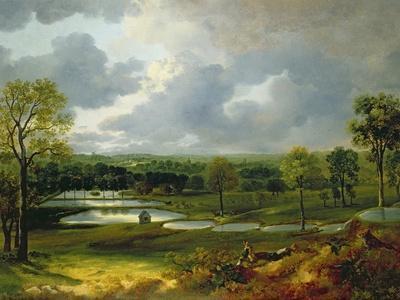 Holywells Park, Ipswich, 1748-50
