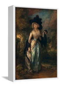 Juliana (Howard), Baroness Petre, 1788 by Thomas Gainsborough