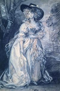 Lady in Trees by Thomas Gainsborough
