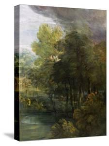 Landscape with a Pool by Thomas Gainsborough