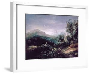 Landscape with Bridge by Thomas Gainsborough
