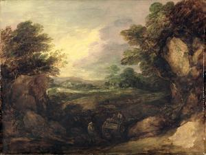 Landscape with Figures, C.1786 by Thomas Gainsborough