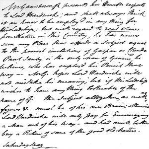 Letter from Gainsborough to Lord Hardwicke Setting Out His Opinions on the Painting of Nature and… by Thomas Gainsborough