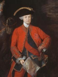 Lord Robert Clive (1725-74) in General Officer's Uniform, C.1764 by Thomas Gainsborough