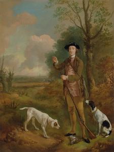Major John Dade (1726-1811) of Tannington, Suffolk, c.1755 by Thomas Gainsborough