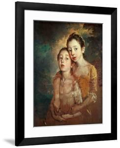 Margaret And Mary Gainsborough, 1760-1761 by Thomas Gainsborough