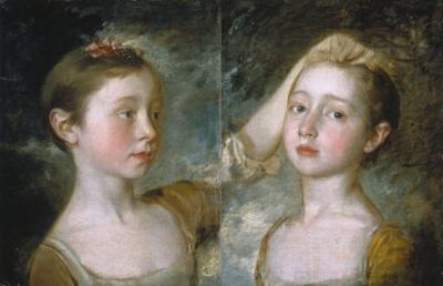 Mary and Margaret Gainsborough by Thomas Gainsborough