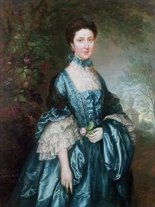 Miss Theodosia Magill, Countess Clanwilliam by Thomas Gainsborough