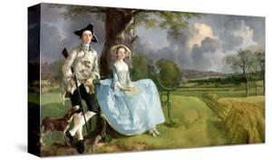 Mr. and Mrs. Andrews, circa 1748-9 by Thomas Gainsborough