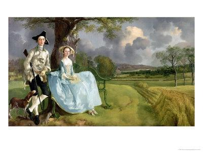 Mr. and Mrs. Andrews, circa 1748-9
