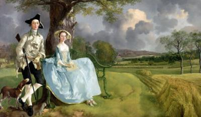 Mr. and Mrs. Andrews, circa 1748-9 by Thomas Gainsborough