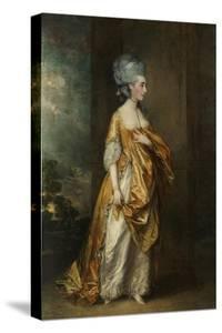 Mrs.Grace Dalrymple Elliott, 1778 by Thomas Gainsborough