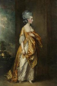 Mrs.Grace Dalrymple Elliott, 1778 by Thomas Gainsborough