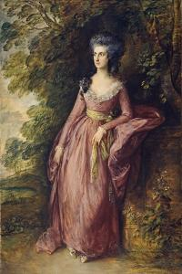 Mrs. Hamilton Nisbet by Thomas Gainsborough