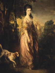 Mrs Lowndes-Stone by Thomas Gainsborough