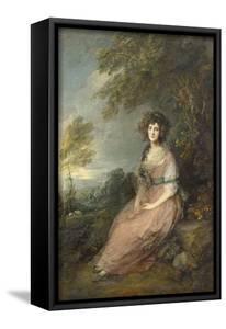 Mrs. Richard Brinsley Sheridan, 1785- 87 by Thomas Gainsborough