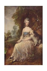 'Mrs. Robinson (Perdita)', 1781, (c1915) by Thomas Gainsborough