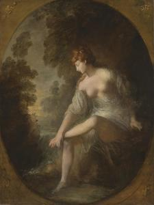 Musidora by Thomas Gainsborough