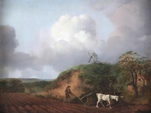 Peasant Ploughing with Two Horses, 1750-1753 by Thomas Gainsborough