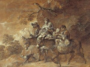 Peasants Going to Market, 1770-74 by Thomas Gainsborough
