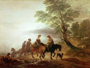 Peasants Going to Market: Early Morning, 1770 by Thomas Gainsborough